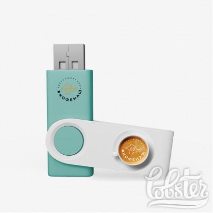 макет флешек для кофейни